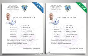 clearance certificate sample certified translation samples day translations work