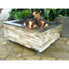 homemade modern fire pit square fire pit diy homemade ideas outside easy square