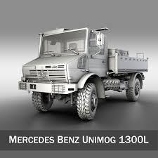 mercedes truck unimog mercedes unimog u1300l 3d model transport unimog fbx c4d lwo