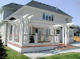 Deck Plans With Pergola by 411 Best Gardens Pergolas Images On Pinterest Backyard Ideas