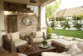Living Spaces Sofas Pretentious Semi Outdoor Living Spaces In Spanish Style Using