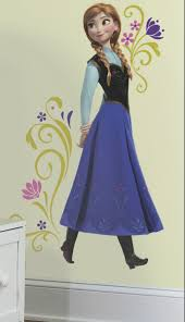 disney s frozen anna giant wall stickers wall stickers giant disney frozen wall sticker www wallmurals ie