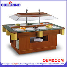 catering equipment 304 color stainless steel buffet display
