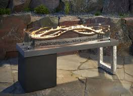 large fire pit table home depot fire pit baltic natural gas fire pit table gas fire pit