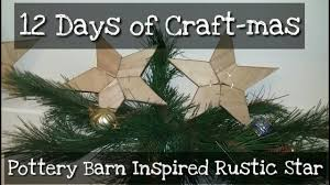12 days of craft day 3 pottery barn inspired rustic