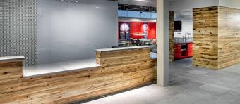 wood paneling for office and retail spaces elmwood reclaimed timber