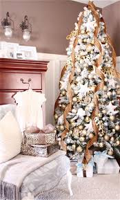 White Christmas Tree With Gold Decorations 3078 Best Christmas Trees Images On Pinterest Xmas Trees