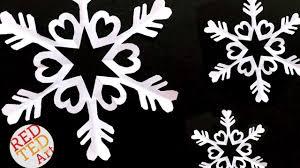 easy paper snowflake diy easy kirigami diy how to make a paper