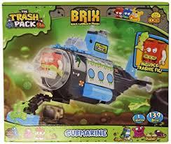 amazon cobi trash pack submarine toys u0026 games