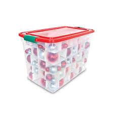ornament storage box plastic storage decorations