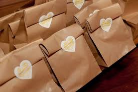 wedding goodie bags friday favours goody bags lavender lace