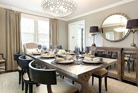 Mirror Dining Room Decorating With Mirrored Furniture In 15 Stunning Dining Room