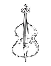 musical instruments image photo album cello coloring page at best
