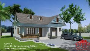 100 kerala home design 1200 sq ft house house plans under