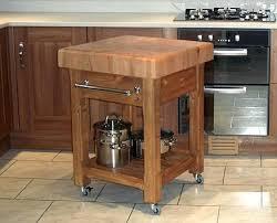 butcher block table on wheels kitchen butcher block movable butcher block kitchen island with