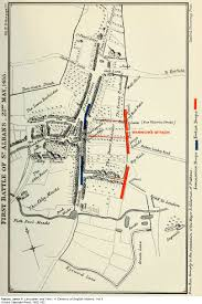 Warwick New York Map by The First Battle Of St Albans 22 May 1455 Wars Of The Roses