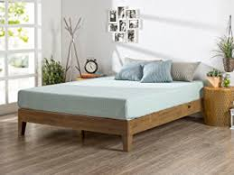 Wood Platform Bed Frames Zinus 12 Inch Deluxe Wood Platform Bed No Boxspring