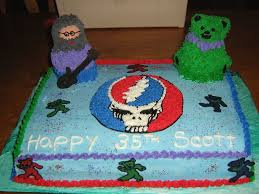 grateful dead birthday cake cakecentral com