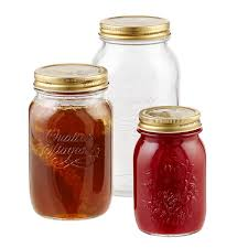 Kitchen Glass Canisters With Lids by Canning Jars Quattro Stagioni Glass Canning Jars The Container