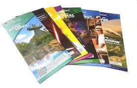 Disney World Resort Map Amazon Com Walt Disney World Resort Parks Attraction Guide Maps