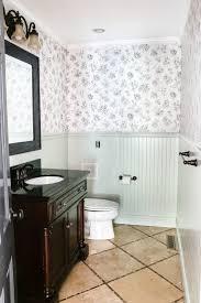 wallpaper designs for bathroom beginner u0027s guide to hanging wallpaper bless u0027er house
