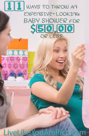 11 ways to throw a baby shower for less than 50 00 50th nice