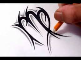 virgo tattoos how to draw a simple tribal star sign youtube