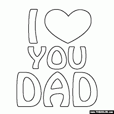 best dad coloring pages aecost net aecost net
