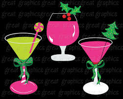 christmas cocktails clipart christmas clip art christmas digital clipart margarita clipart