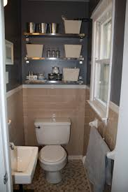 images about bathroom pinterest cabinets tile and sinks could live with gray walls and peach tile like the ikea stainless shelving above