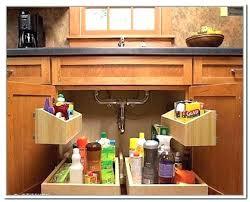 under kitchen sink storage ideas under kitchen sink organizer and full image for under pedestal