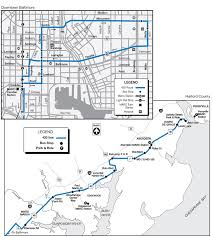 baltimore routes map route 420 schedules maryland transit administration