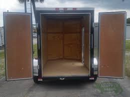 Exterior Doors B Q by 5x8 Sa Trailer Black Double Doors Side Door Side Vents