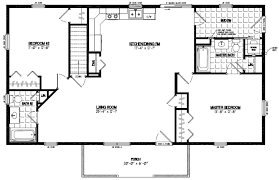 Rustic Cabin Plans Floor Plans Certified Homes Pioneer Certified Home Floor Plans