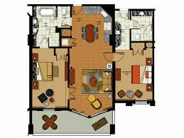 disney vacation club floor plans two bedroom floor plan for parc soleil hotel by hilton grand