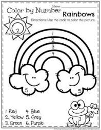 coloring pages color in the numbers thanksgiving preschool