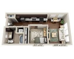 floor plans and pricing for 13th and market downtown san diego studio e1a