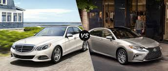 lexus vs mercedes sedan mercedes benz e class vs 2016 lexus es350