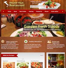 web design allen tx italian restaurant