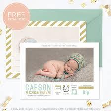 best 25 birth announcement template ideas on pinterest