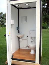 temporary bathroom