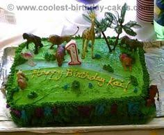 coolest safari jungle birthday cake jungle birthday cakes