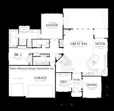 Game Room Floor Plans Mascord House Plan 1320 The Granseth