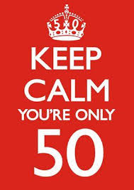 50 birthday card 50 keep calm youre only 50 birthday card 2 50 a great range