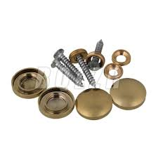 8x home decor fittings golden copper round mirror cap nails