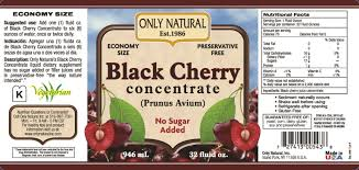 black cherry pills for gout big toe not gout foods to avoid