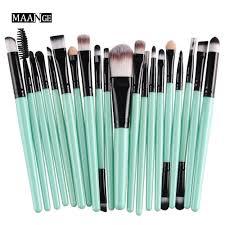 amazon com cinidy 20 pcs makeup brush set tools make up toiletry
