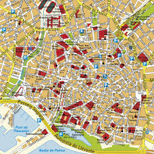 Majorca Spain Map Interactive Map Of The Old Town Of Palma De Mallorca