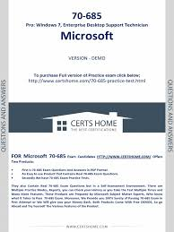70 685 exam questions free pdf demo pdf active directory group