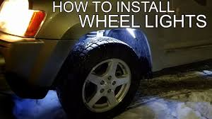Well Lights How To Install Wheel Well Lights Youtube